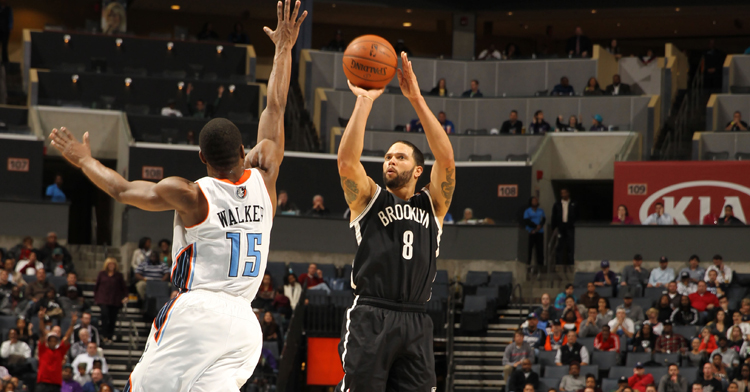 Deron poured in 18 points in the first quarter and finished the game with 29, but the Nets fell in overtime yet again (Getty Images).
