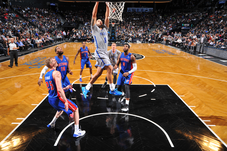 Brooklyn's aggressive attack on the basket produced the team's 15th straight home win (Getty Images).