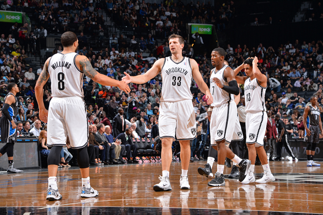 When D-Will found Mirza Teletovic for a trey, it put the Nets ahead for good (Getty Images).